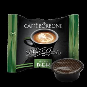 Caffè Borbone Don Carlo Miscela Dek - Capsule compatibili A Modo Mio