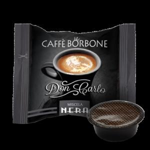 Caffè Borbone Don Carlo Miscela Nera - Capsule compatibili A Modo Mio