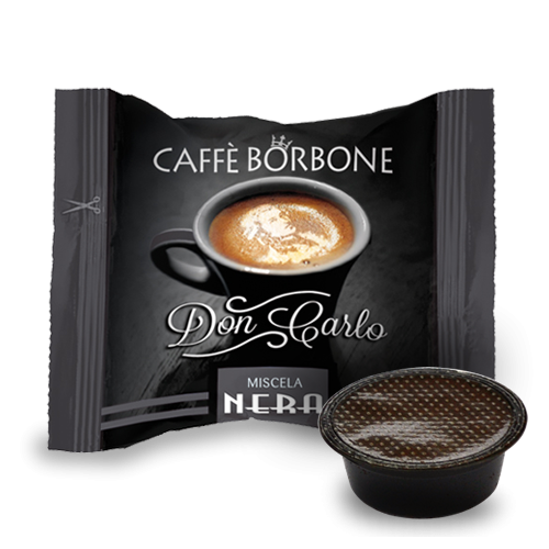 300 Capsule Caffè Borbone Don Carlo Miscela Nera