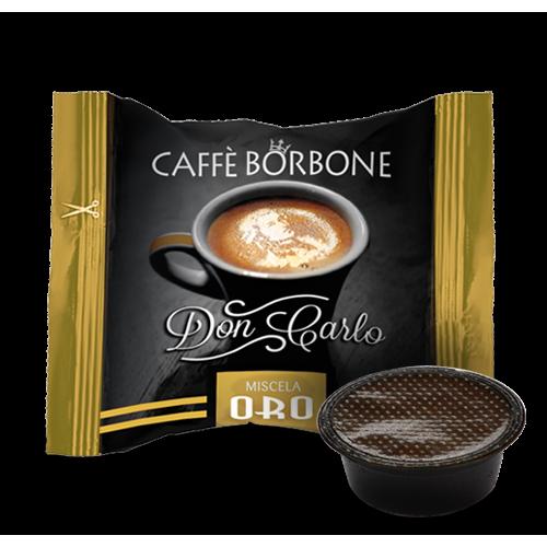 Caffè Borbone Don Carlo Miscela Oro - Capsule compatibili A Modo Mio