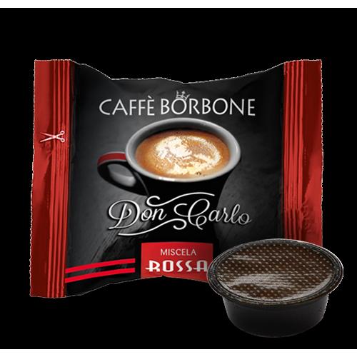 Caffè Borbone Don Carlo Miscela Rossa - Capsule compatibili Lavazza A Modo Mio