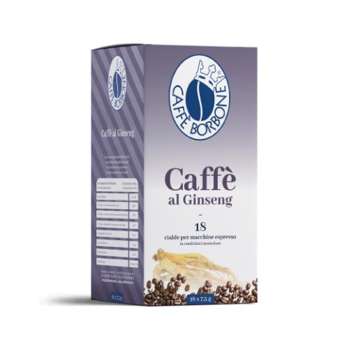 Caffè Borbone Ginseng - Cialde carta ESE 44mm
