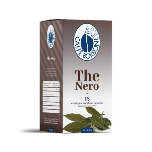Caffè Borbone The Nero - Cialde carta ESE 44mm