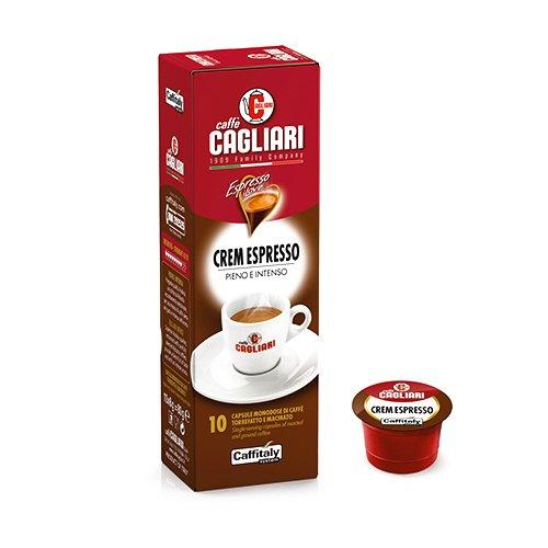 Caffitaly Caffè Cagliari Crem Espresso - Capsule compatibili Caffitaly System