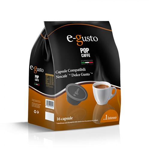 Lollo Caffè Miscela 1 Intenso - Capsule Compatibili Nescafè Dolce Gusto