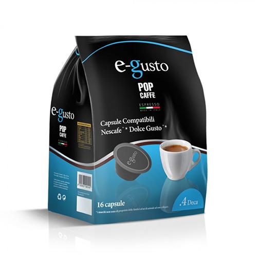 Lollo Caffè Miscela 4 Deca - Capsule Compatibili Nescafè Dolce Gusto