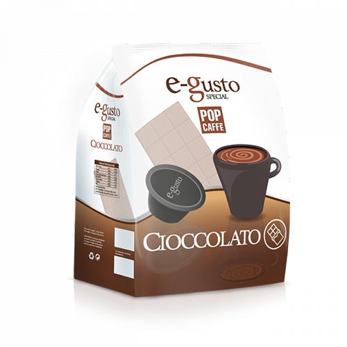 Pop Caffè e-gusto Cioccolato - Capsule Compatibili Nescafè Dolce Gusto