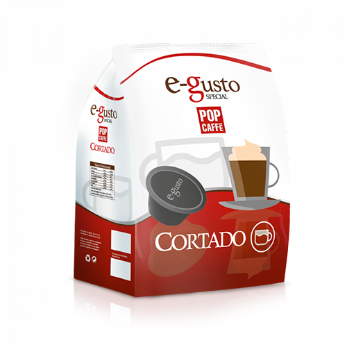 Pop Caffè e-gusto Cortado - Capsule Compatibili Nescafè Dolce Gusto