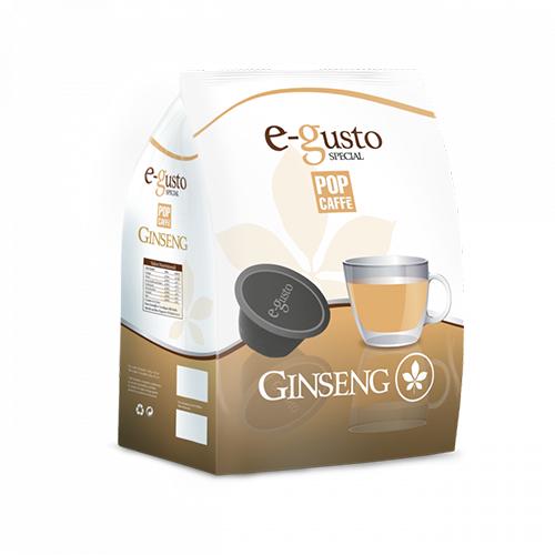 Pop Caffè e-gusto Ginseng - Capsule Compatibili Nescafè Dolce Gusto