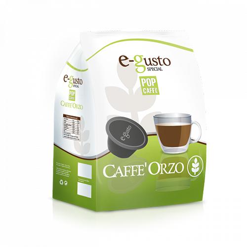 Pop Caffè e-gusto Orzo - Capsule Compatibili Nescafè Dolce Gusto