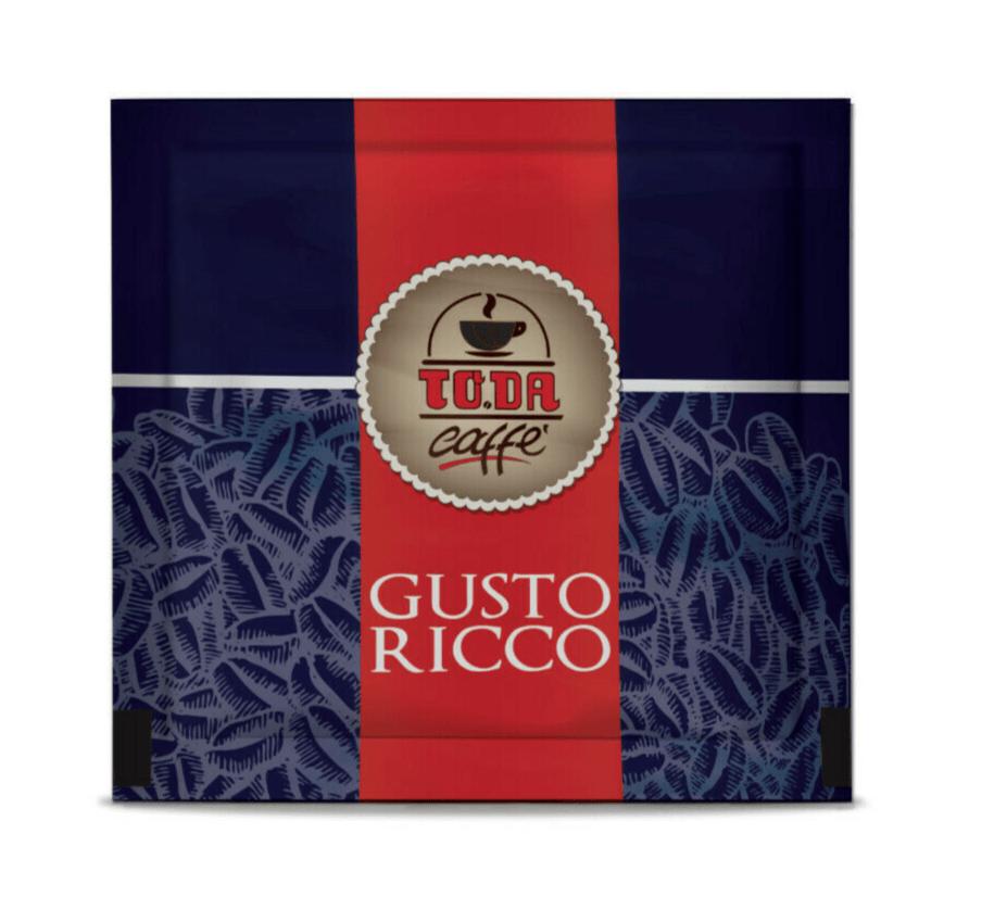 100 capsule caffè TO.DA.Gattopardo MISCELA GUSTO RICCO compatibili NESPRESSO