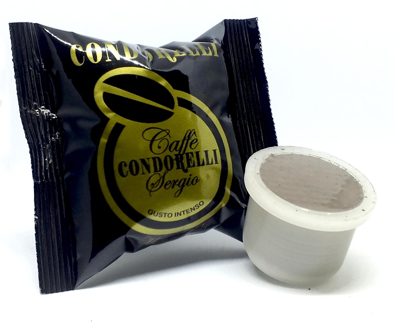 100 pz CAPSULE CAFFE' COMPATIBILI UNO SYSTEM CONDORELLI GUSTO INTENSO