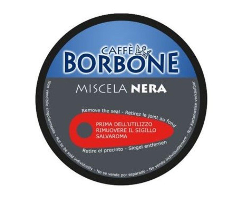 180 capsule caffè Borbone Compatibili Nescafé Dolce Gusto Miscela NERA