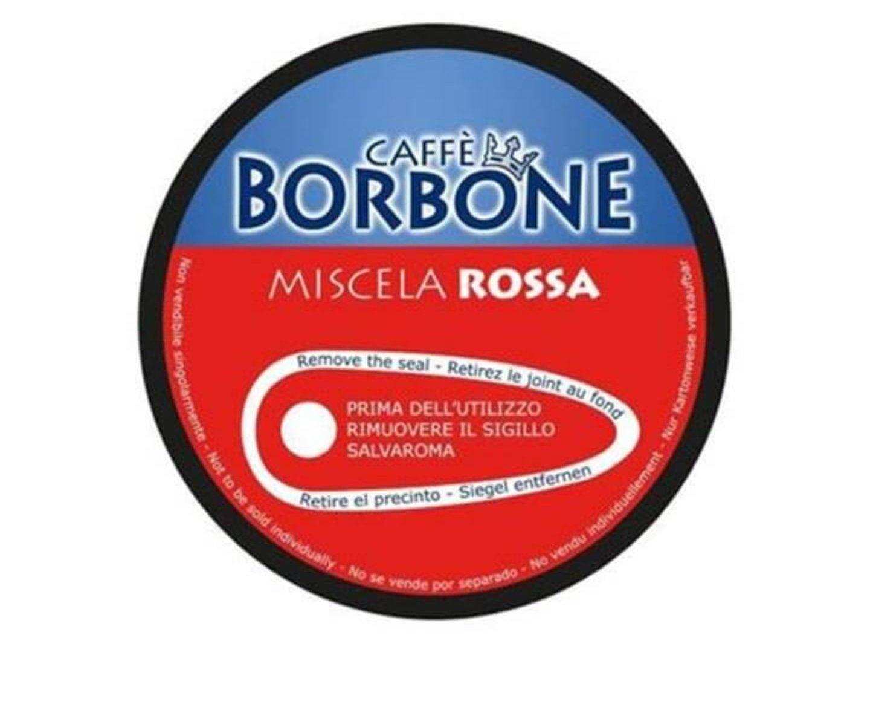 90 capsule caffè Borbone Compatibili Nescafé Dolce Gusto Miscela ROSSA + omaggio KIT ACCESSORI BORBONE